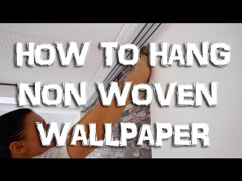 HOW TO HANG NON-WOVEN WALLPAPER | Instruction | WALLCOVER