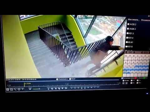 Смертельное падение с лестницы при работе на высоте
