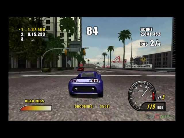 Burnout 2: Point Of Impact - Gameplay Xbox HD 720P