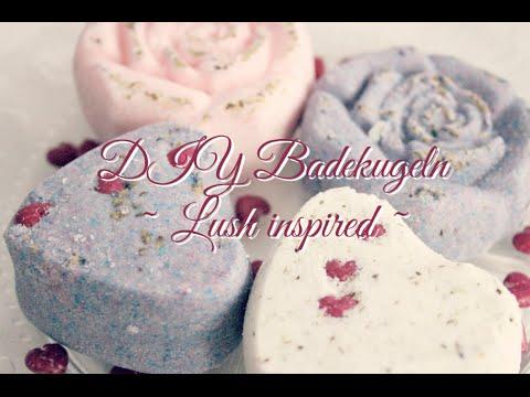 DIY Badekugeln von Lush inspiriert
