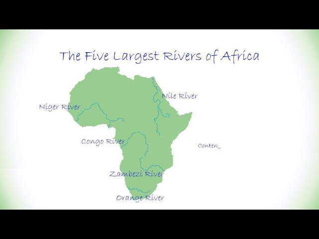 The Five Largest Rivers Of Africa Youtube