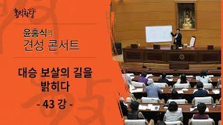 [홍익학당] 윤홍식의 대승보살의 길을 밝히다 43강