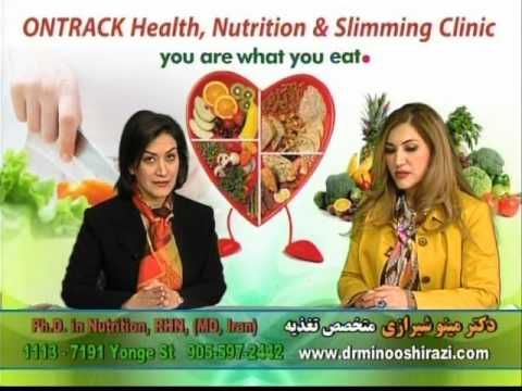 Dr Minoo Shirazi Nutrition Tips, Part 10 complete, ONTRACK Health, Nutrition & Slimming Clinic