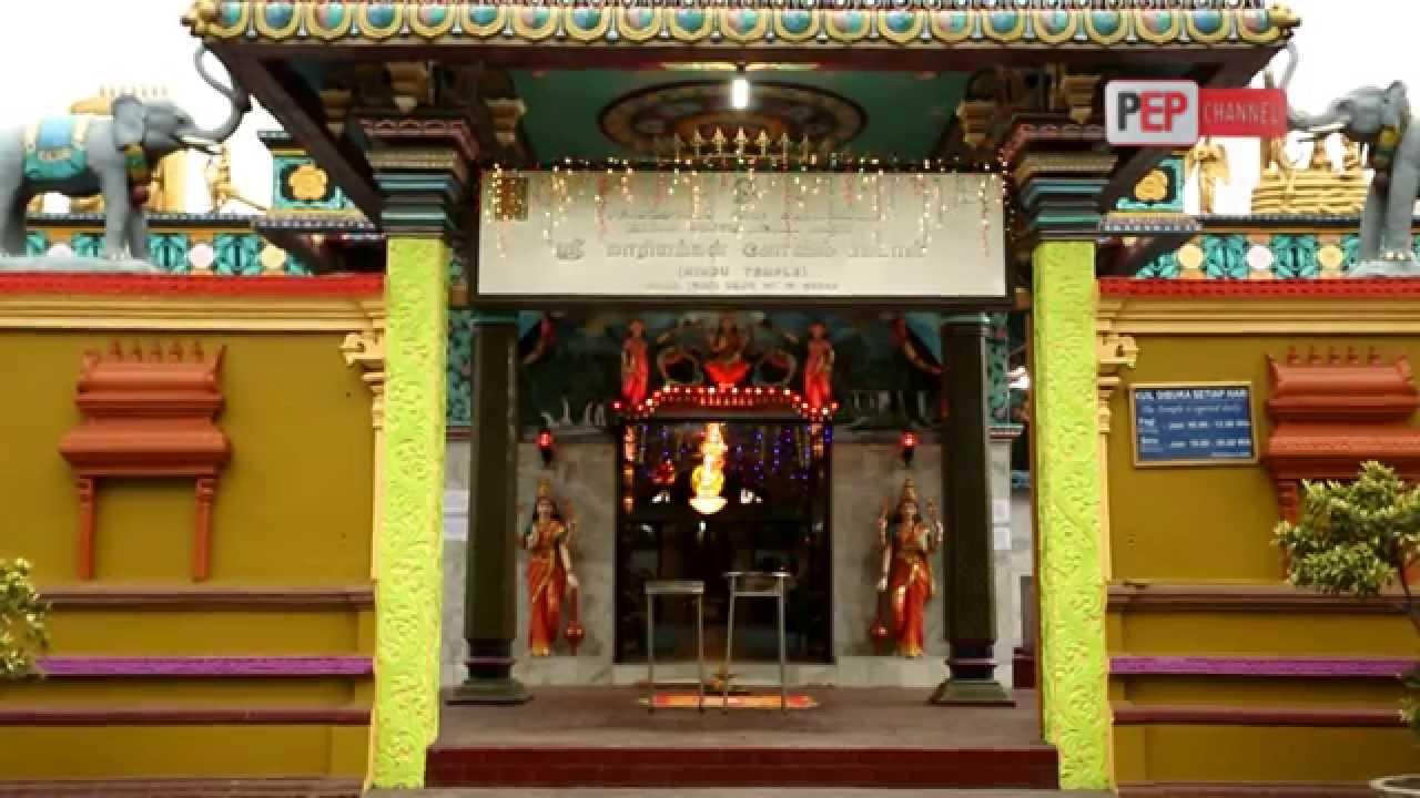 Hasil gambar untuk 1. Kuil Shri Mariamman