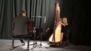 La liste de Schindler-John Williams/ cover Cécile Bonhomme (harpe) et Jean Felix Lalanne (guitare)