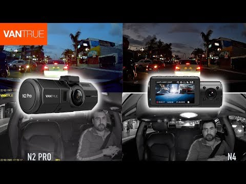 Vantrue N4 Vs N2 Pro Comparison Daylight And Night Time