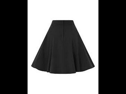 Hướng Dẫn May Váy Xòe 180 Kiểu 2_How To Make A Circle Skirt (180-2)