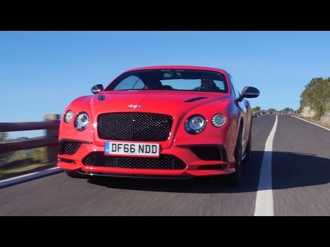 2017 Bentley Continental Supersports - First Look