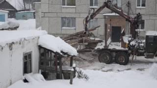 видео Демонтаж частного дома с вывозом мусора от 23 тыс. руб.