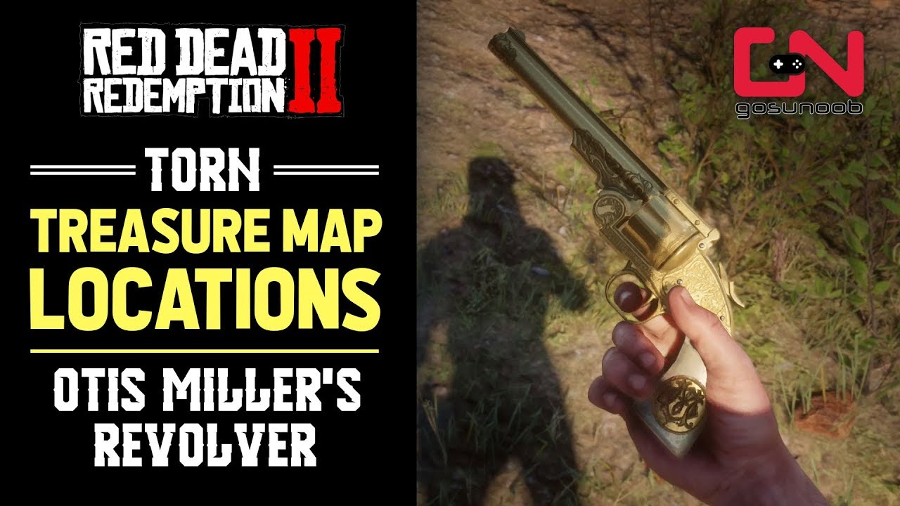 Red Dead Redemption 2 Torn Treasure Map Locations - Otis Miller's