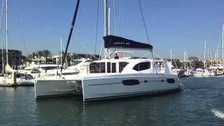 Leopard 44 Catamaran Sailboat For Sale in California By: Ian Van Tuyl
