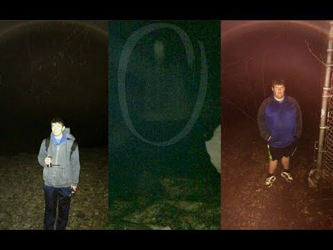 Haunted Ellwood City Woods - Ghost Hunting (Ghost Pictures)
