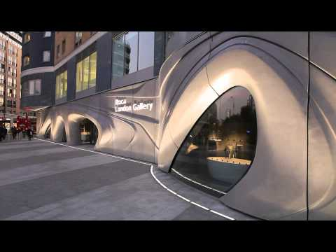 ROCA London Gallery © Zaha Hadid Architects