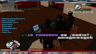 Gramy w Mta na serverach zapraszam! :) net4game i inne! Giveway co 25 subow na gre INTERSHELTER!!
