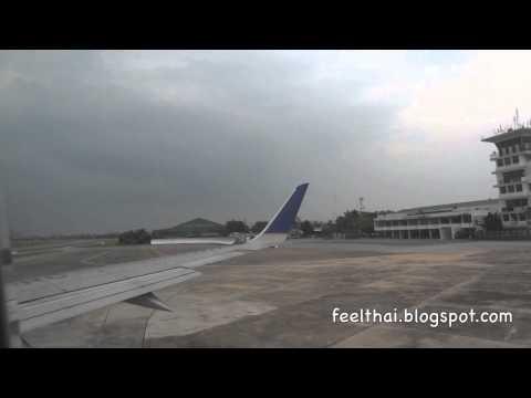 Orient Thai flight Chiang Mai  Bangkok Suvarnnabhumi Boeing 737-300
