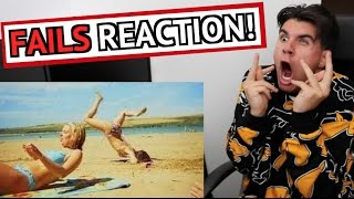 REACTING TO THE BEST FAILS ON YOUTUBE! (2016)