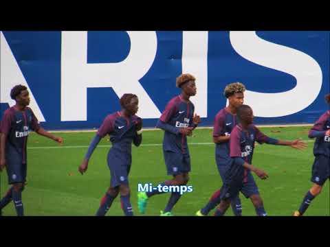 Actions & buts PSG 4-1 PFC U17 Nat