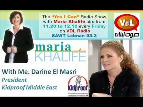 Me. Darine El Masri on Sawt Lebnen Radio Station with Maria Khalifé on 28 September 2012