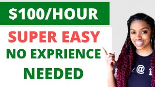 HURRY! Get Paid $100/HOUR + Easy Smartphone Side Hustle I WORK FROM HOME 2020