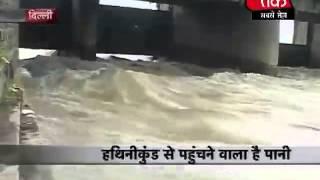 दिल्ली में बाढ़ का खतरा, तबाही मचा-1