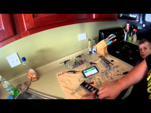 Assembly Build - Mini Metal-H ead FPV Quadcopter frame