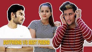 BOYFRIEND VS BEST FRIEND || Hunny sharma || thumbnail