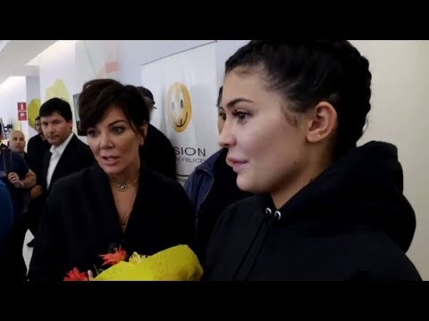 Kylie & Kris Jenner Get EMOTIONAL During Charity Trip To Peru