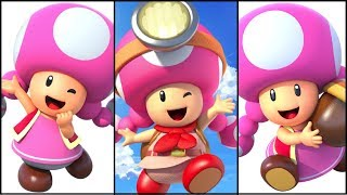The Evolution of Toadette (2003-2017)