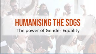 CAF event: Humanising the SDGs – The power of gender equality