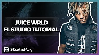 How To Make A Juice Wrld Type Beat From Scratch On FL Studio | Sad Guitar & Hard 808s Tutorial