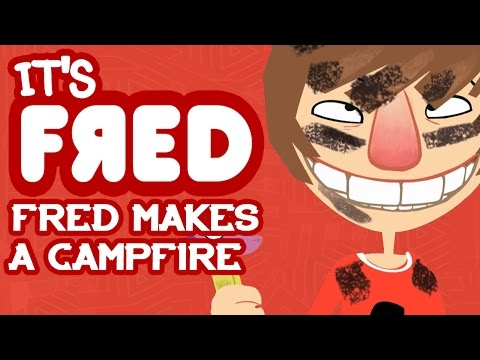 Fred Makes a Campfire - It