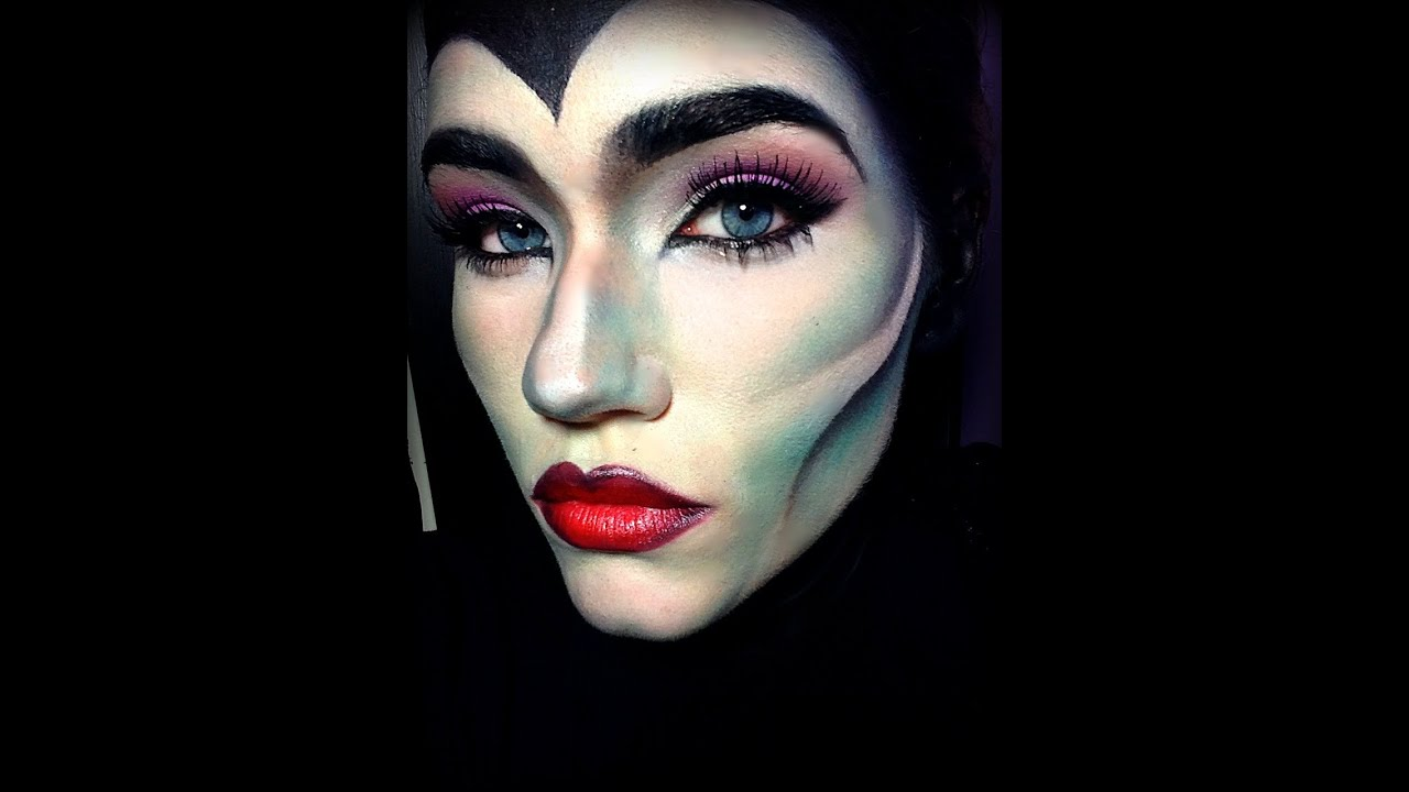 Maleficent makeup tutorial youtube baditri Gallery
