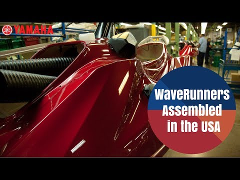 Yamaha WaveRunners --