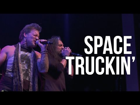 "Deep Purple ""Space Truckin'"" cover by Chris Jericho, Arejay Hale + Metal Allegiance live"