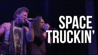 """Space Truckin'"" by Deep Purple performed by Metal Allegiance"
