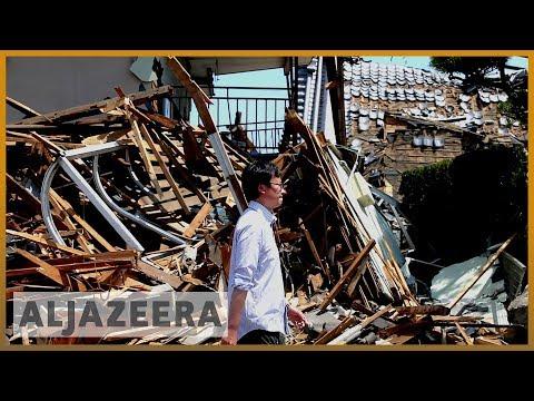 Powerful quake hits Japan