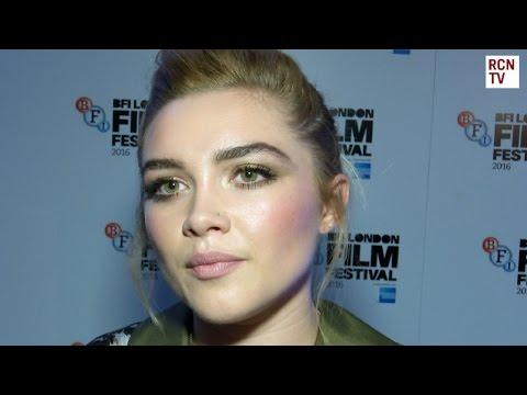 Florence Pugh Interview Lady Macbeth Premiere