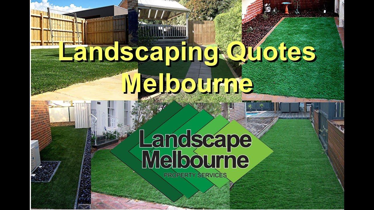 Free landscaping quotes melbourne landscape melbourne for Landscaping melbourne