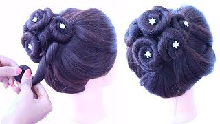 new amazing hair updo for wedding | cute hairstyles | easy hairstyles | updo hairstyles | easy updos