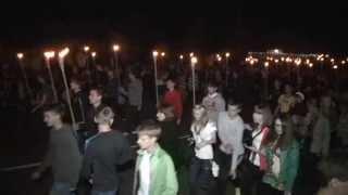 Факельное шествие в Ахтырке 2013