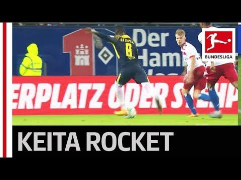 Naby Keita's Goal vs Hamburg is a Stunner