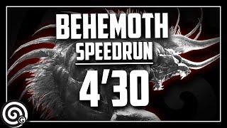 "Behemoth Speedrun 4'30"" - A Visitor from Eorzea | Monster Hunter World"