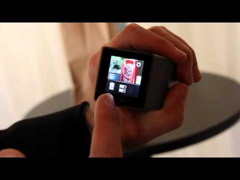 Lytro light field camera zoom and UI walkthrough