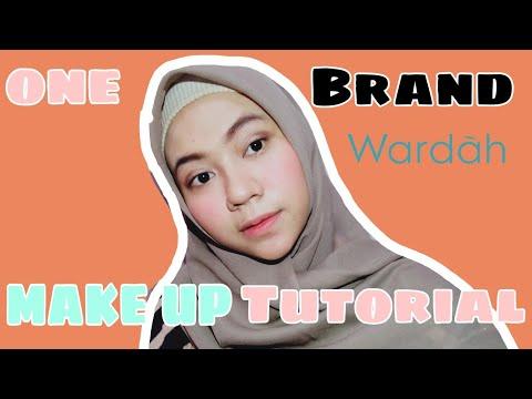 wardah-one-brand-makeup-tutorial-!!