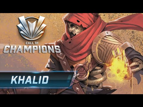 Call Of Champions - Khalid Gameplay (Support Class)