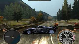 NFSMW Stunts and Tricks