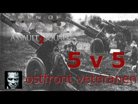 Men of War assault squad 2 Ostfront veteranen DLC FIGHT 5 v 5 #57 |