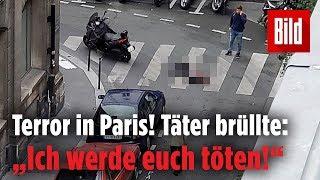 Ein Toter bei Messerangriff in Paris