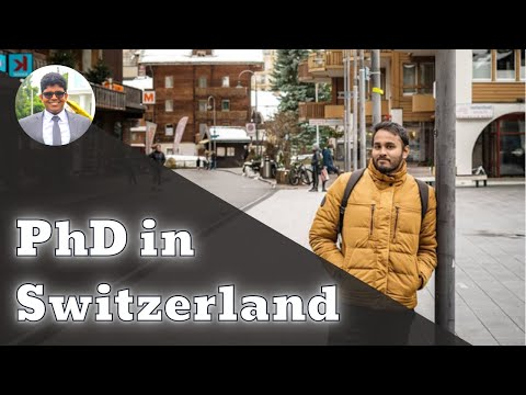 PhD in Switzerland with @Nomadic Lobsters    Study Tips in Sinhala   2020