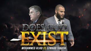 Full Debate - Mohammed Hijab vs Edward Tabash || Does God Exist? | PART 1